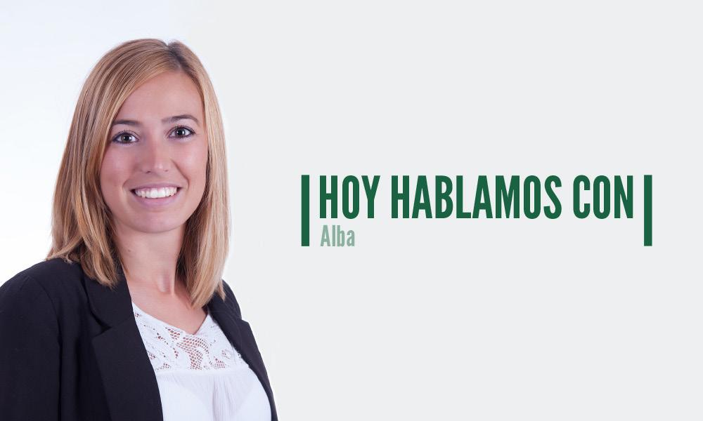 HOY HABLAMOS CON…Alba Rodríguez, de nuestro departamento de financiación especializada, sobre confirming