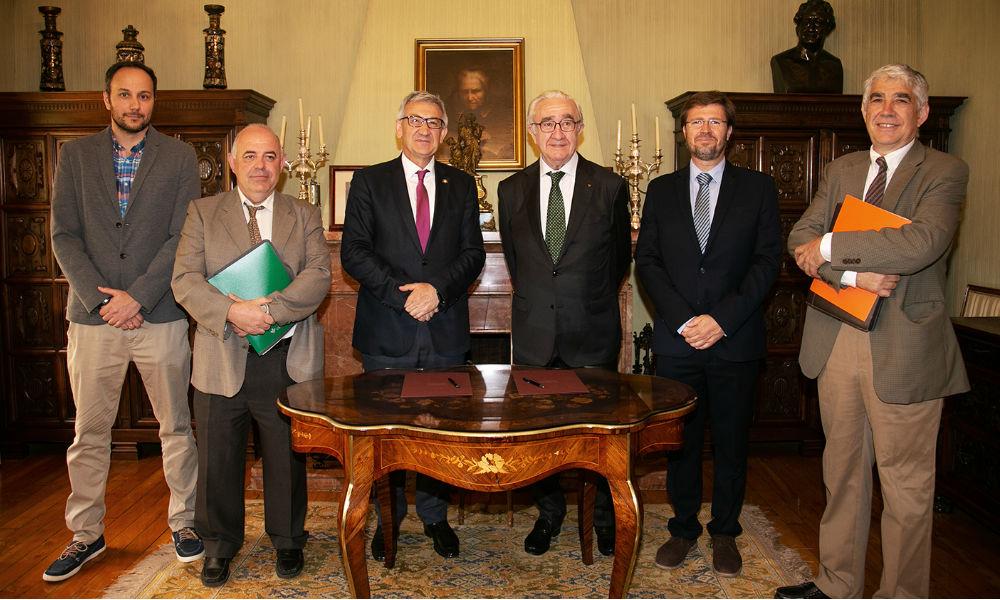 La Universidad de Oviedo y Caja Rural de Asturias crean una cátedra de Industrias y Procesos Agroalimentarios
