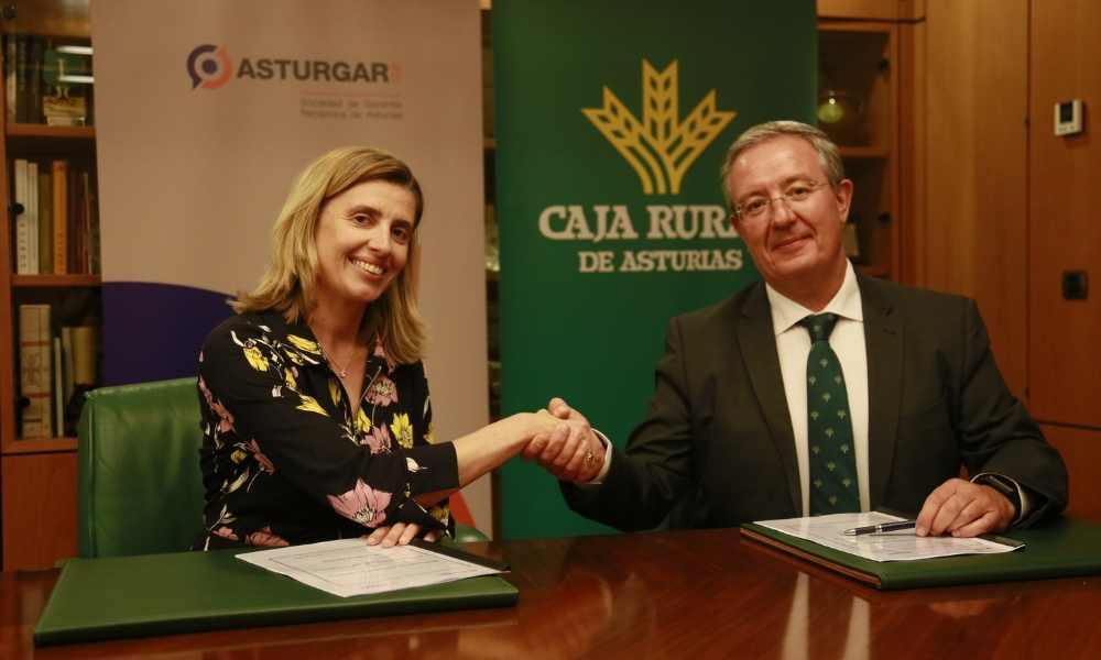 Asturgar y Caja Rural de Asturias destinan 25 millones de euros a financiar empresas asturianas