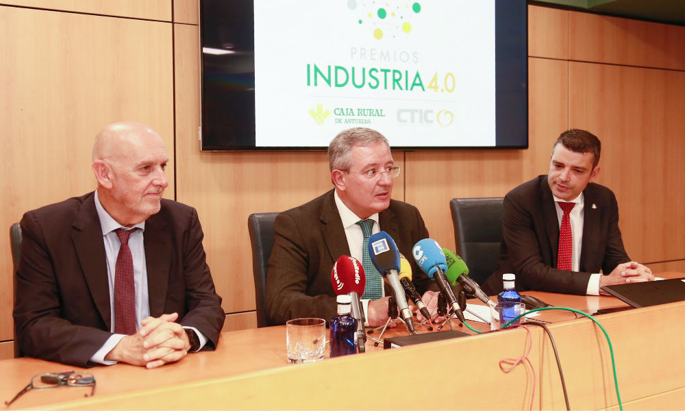 Lácteas Monteverde, Comercial Agropes, Grupo Trabanco y Pellets Asturias Premios Industria 4.0