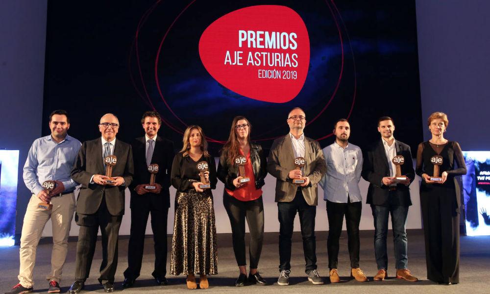 Premios AJE Asturias 2019