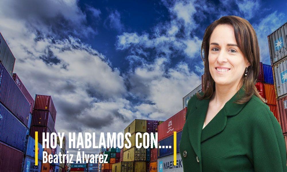 HOY HABLAMOS CON… Beatriz Álvarez de nuestro Departamento de  Empresas – Comercio Exterior sobre Negocio Internacional