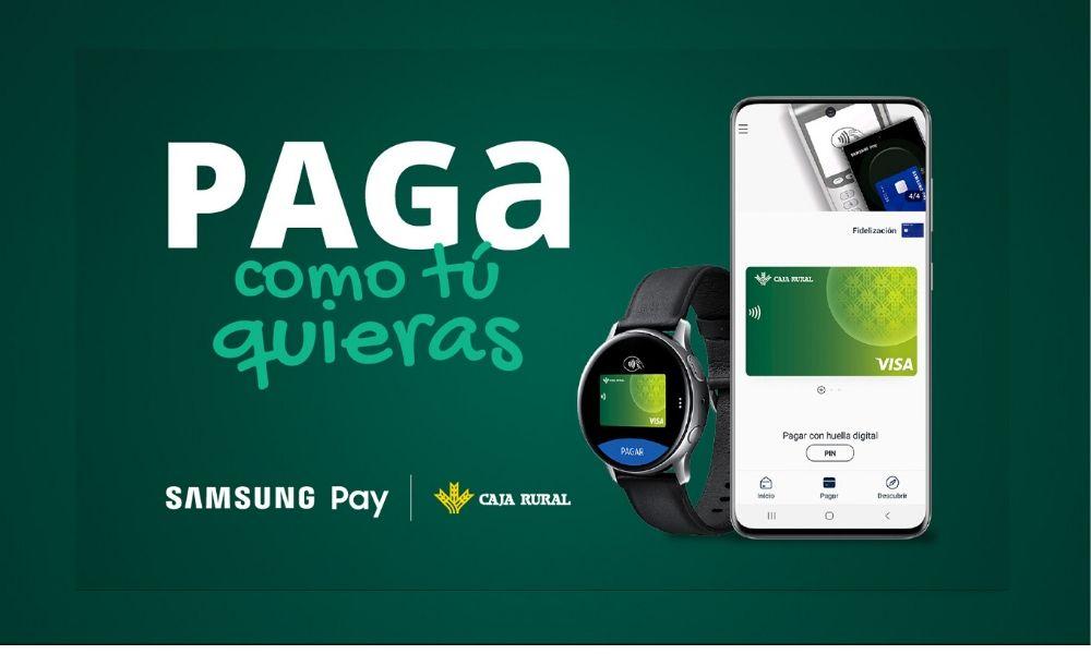 Samsung Pay ya está disponible en Caja Rural de Asturias