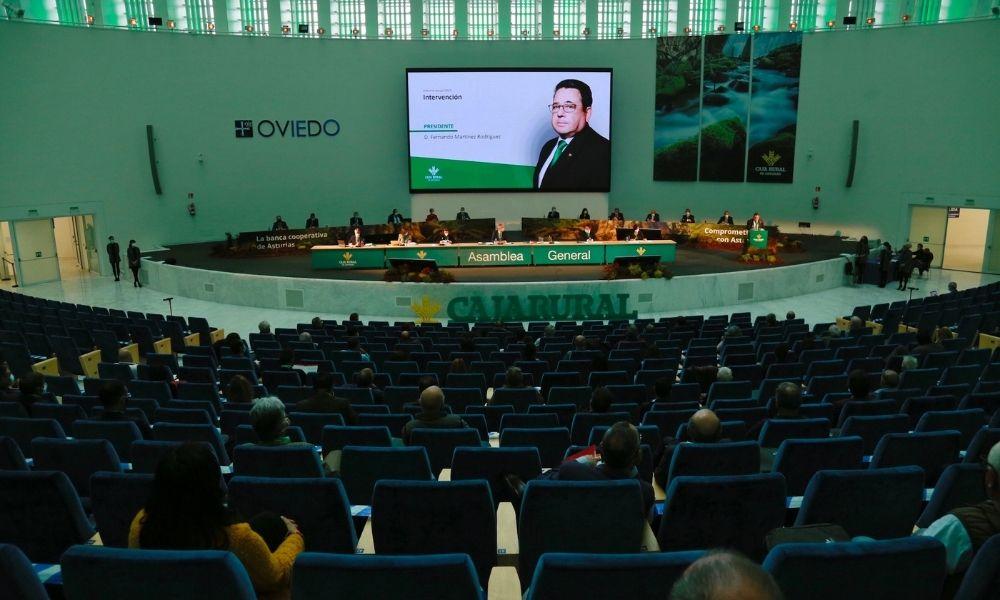 La Asamblea General de Caja Rural de Asturias aprueba el resultado económico y de gestión del ejercicio 2019