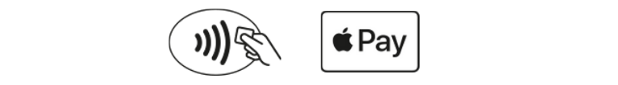 Icons Apple Pay Contactless