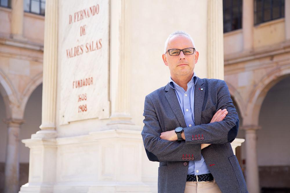 Jesús del Brío, Director de Área de Profesorado de la Universidad de Oviedo