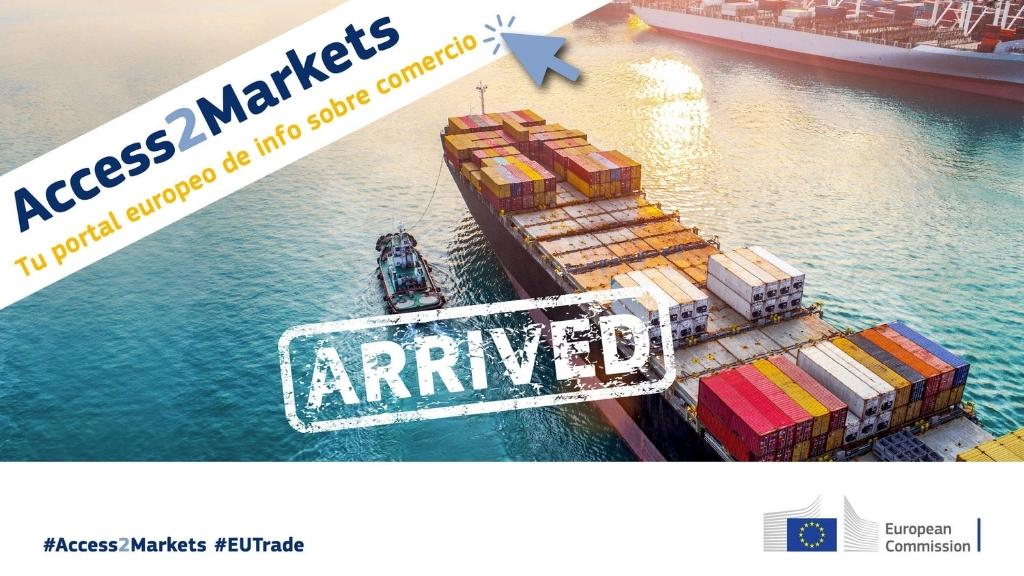23 de junio de 2021 Webinario «ACCESSaMARKETS, el nuevo portal en internet de la Comisión Europea para apoyar el comercio internacional de las PYMES»