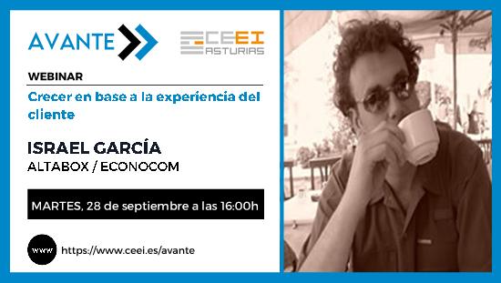 28 de septiembre de 2021 Crecer en base a la experiencia del cliente con Israel García de Altabox/ Econocom