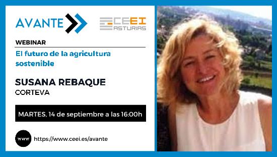 14 de septiembre de 2021 El futuro de la agricultura sostenible con Susana Rebaque – Corteva