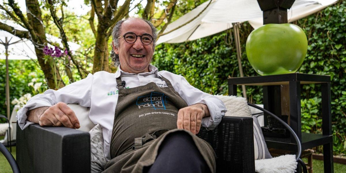 Hablamos con José Antonio Campoviejo chef del restaurante «El Corral del Indianu»